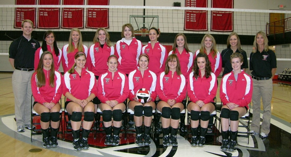 2008 Edgewood College Volleyball Team